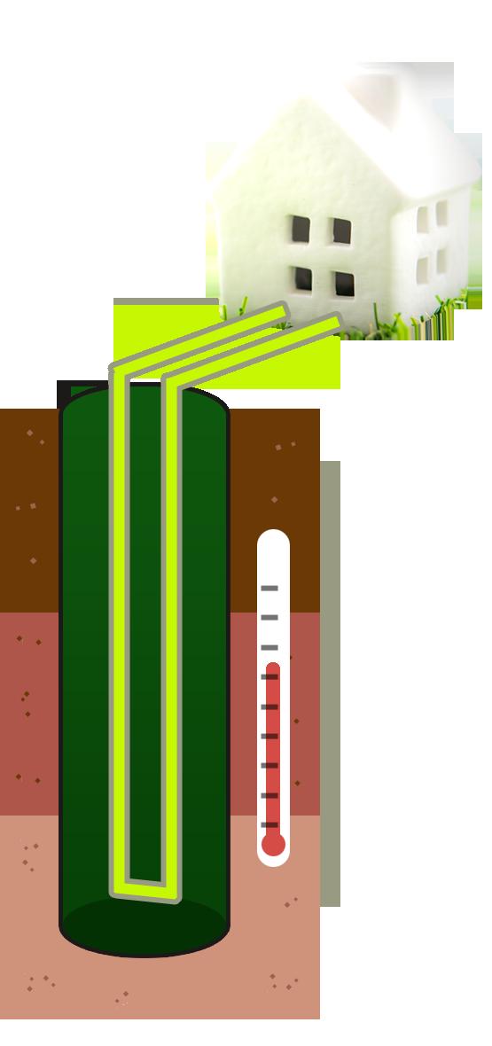 地中熱利用のイメージ